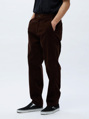 hardwork cord carpenter pant brown | OBEY Clothing