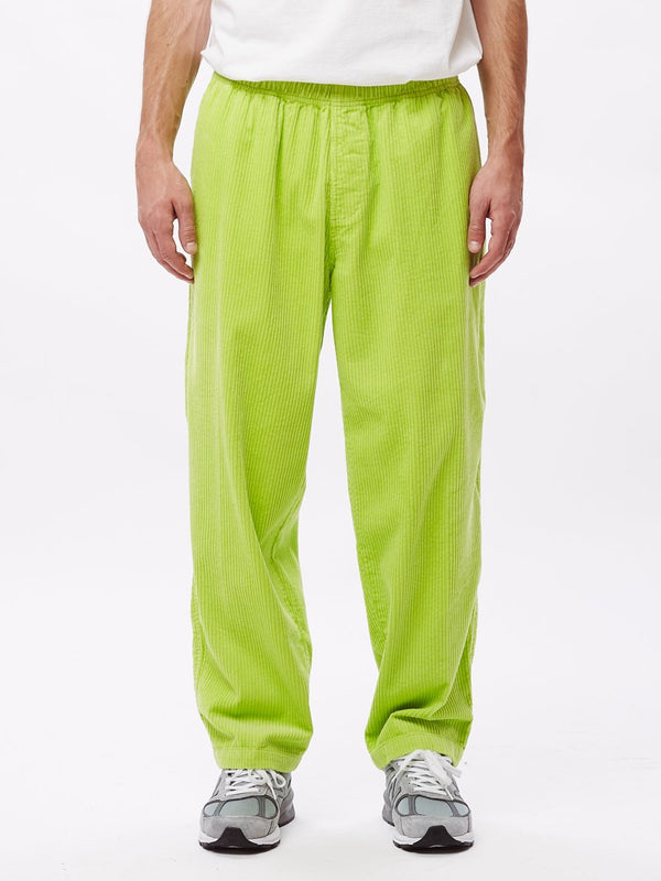 easy big boy cord pant key lime | OBEY Clothing