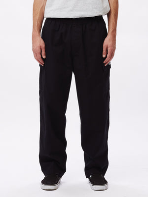 easy big boy cargo pant black | OBEY Clothing