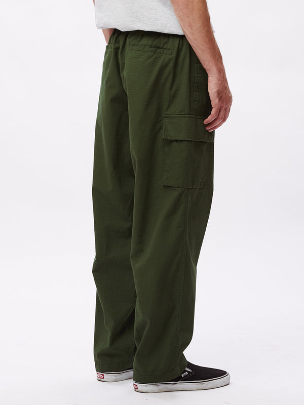 easy big boy cargo pant park green | OBEY Clothing