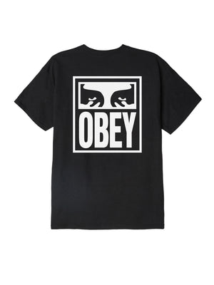 obey eyes icon tee black | OBEY Clothing