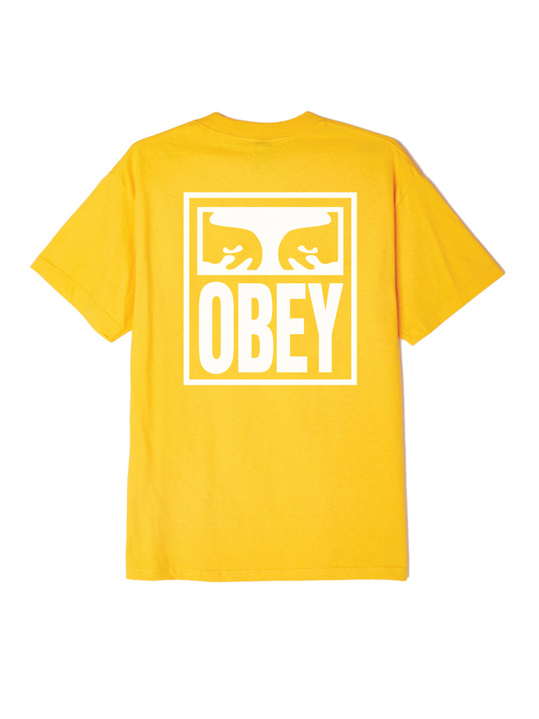 obey eyes icon tee gold | OBEY Clothing
