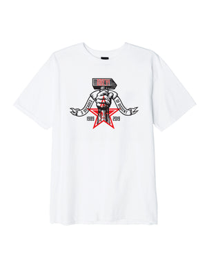 obey 3 decades of dissent white | OBEY Clothing