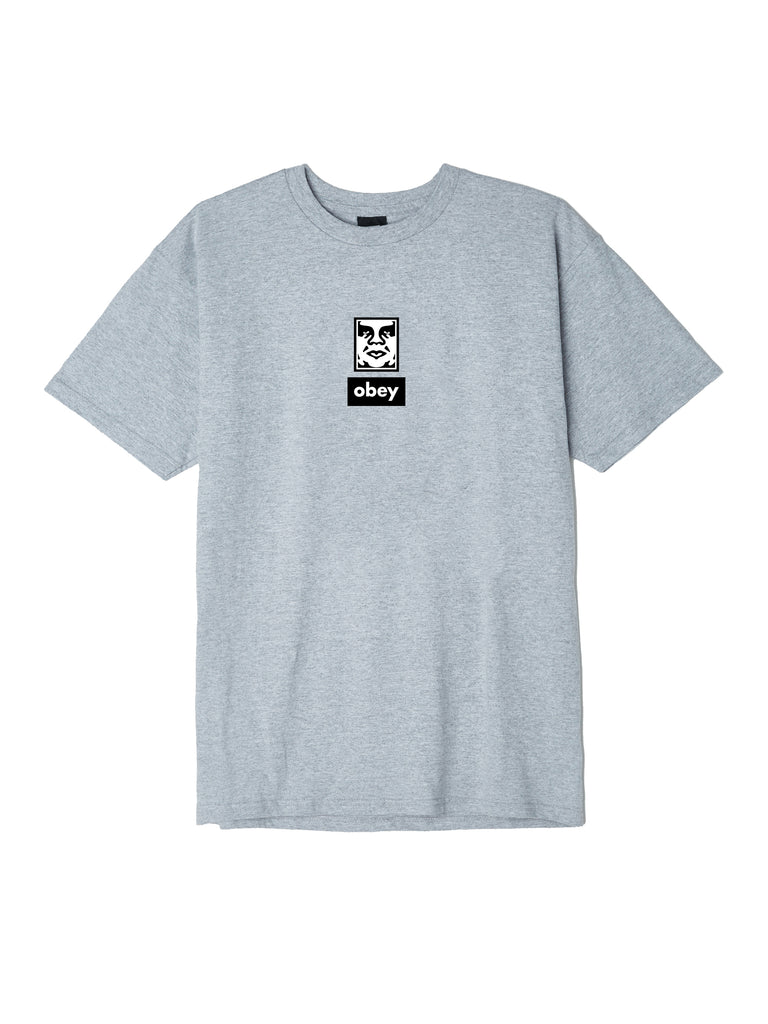 obey icon face 30 years heather grey | OBEY Clothing