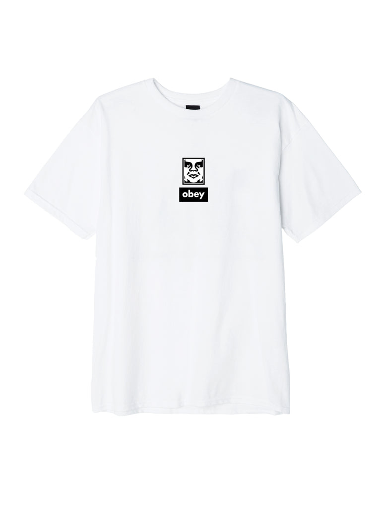 obey icon face 30 years white | OBEY Clothing