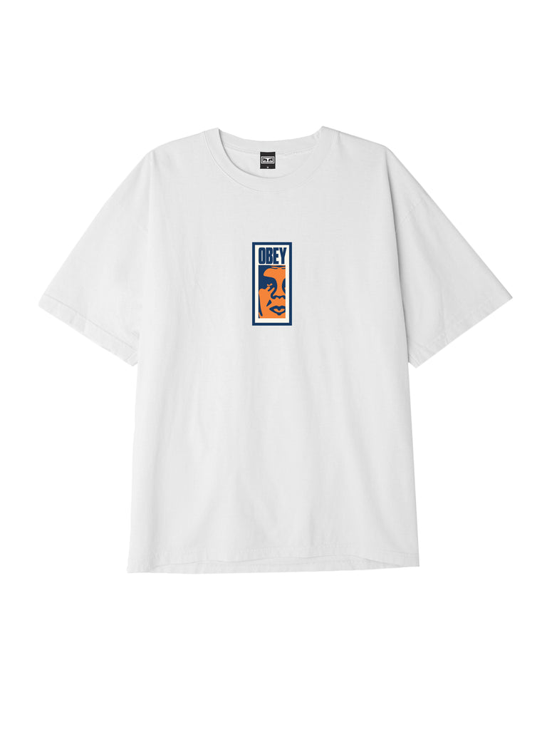 obey slim icon tee white | OBEY Clothing