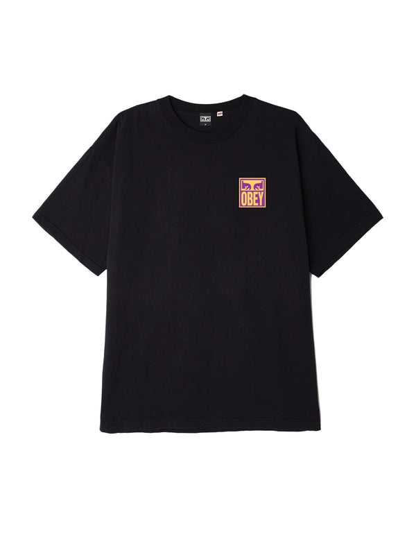 eyes icon obey tee off black | OBEY Clothing