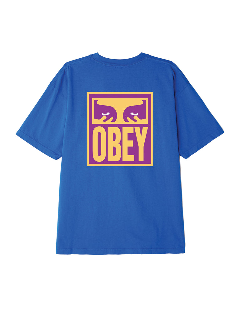 eyes icon obey tee royal blue | OBEY Clothing