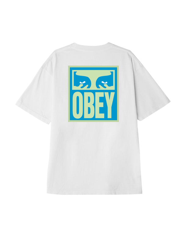 eyes icon obey tee white | OBEY Clothing