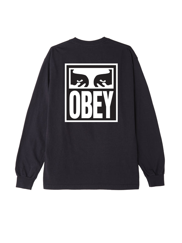 obey eyes icon 2 ls off black | OBEY Clothing
