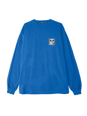 obey eyes icon 2 ls spirit blue | OBEY Clothing