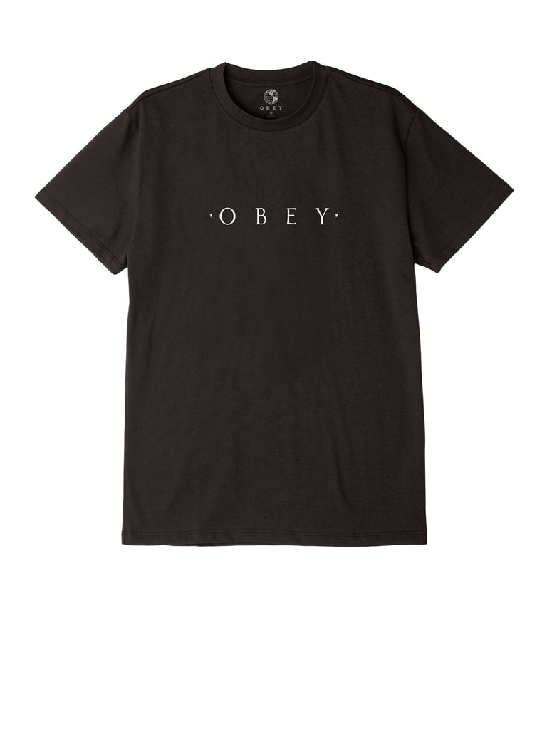 novel obey tee black | OBEY Clothing