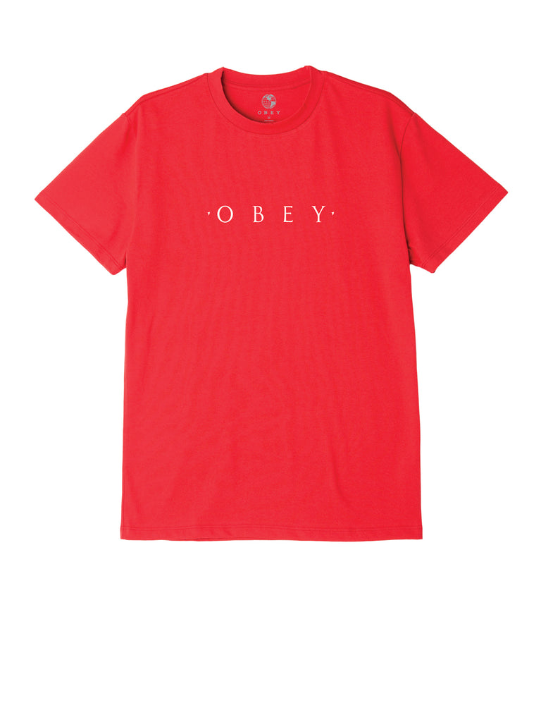 novel obey tee red | OBEY Clothing
