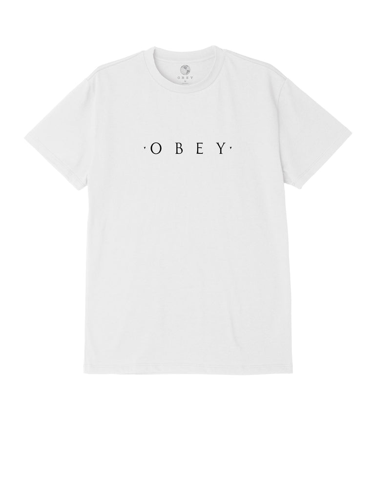 novel obey tee white | OBEY Clothing