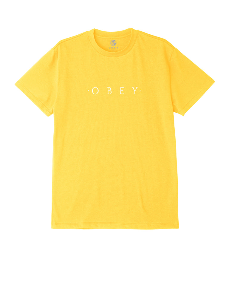 novel obey tee yellow | OBEY Clothing