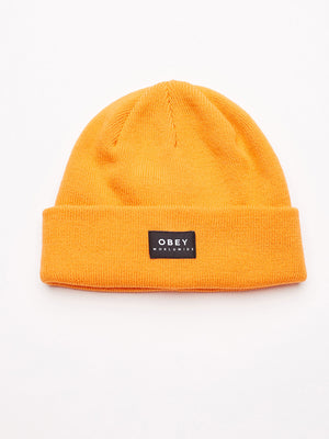 vernon beanie ii orange | OBEY Clothing