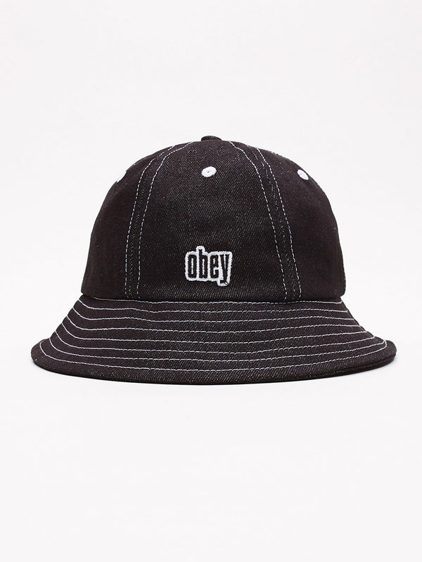 moore bucket hat black | OBEY Clothing