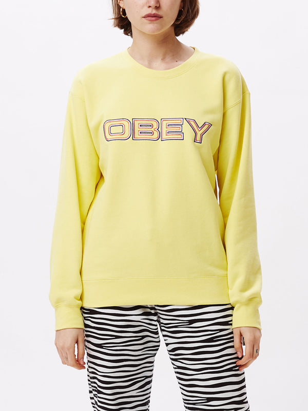blockside crew lemon | OBEY Clothing
