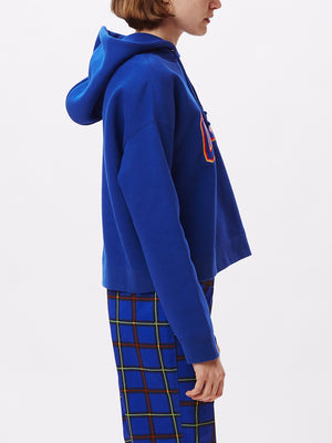 conrad cropped hood cobalt | OBEY Clothing