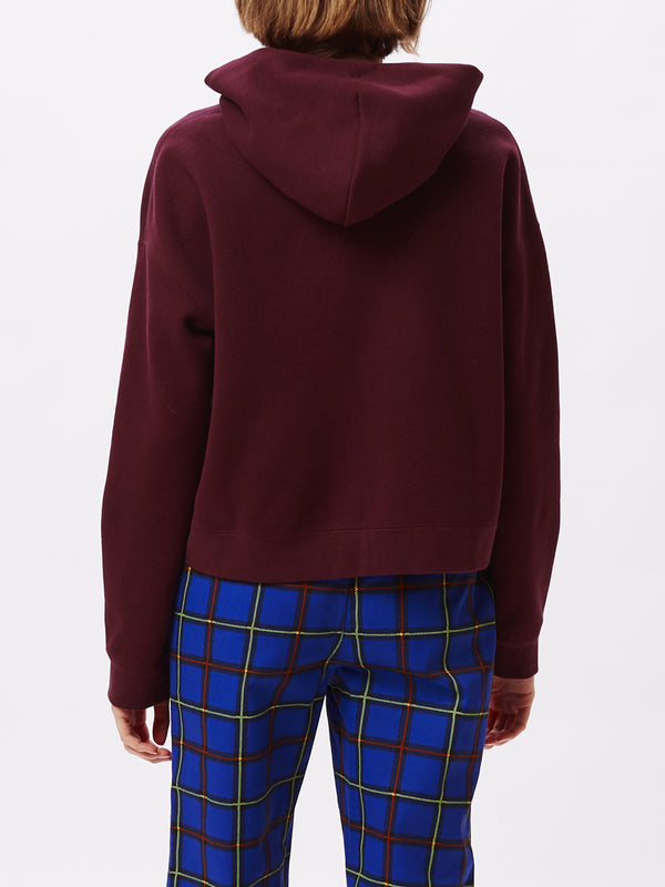 conrad cropped hood plum | OBEY Clothing