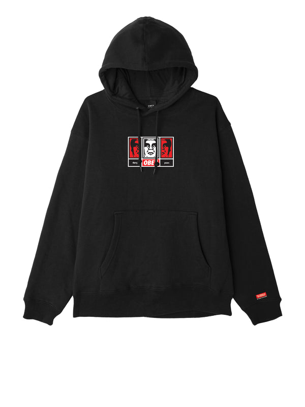 obey 3 faces 30 years black 2 | OBEY Clothing