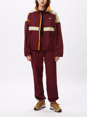 parquet jacket plum | OBEY Clothing