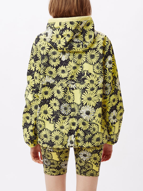 daisy anorak yellow multi | OBEY Clothing