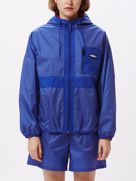 riverbed jacket cobalt | OBEY Clothing