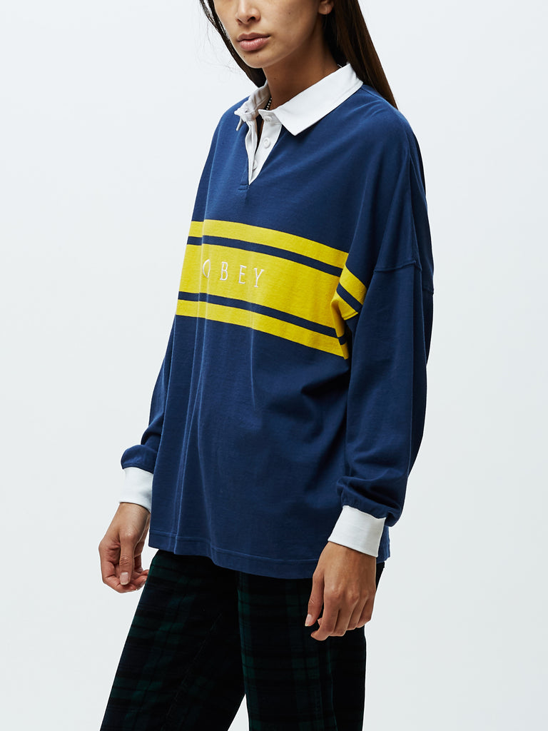 lenox top navy multi | OBEY Clothing