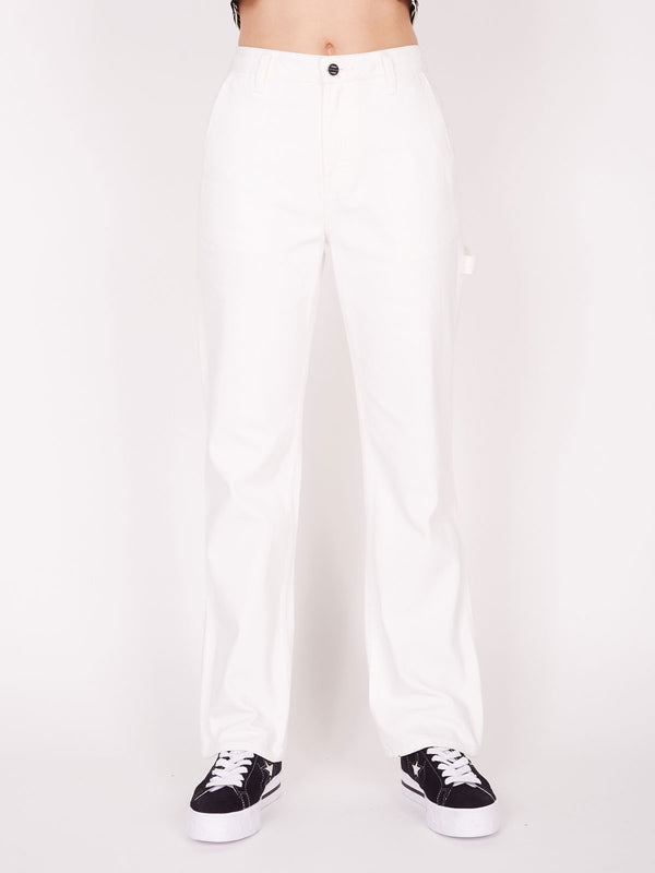 vandal pant white | OBEY Clothing