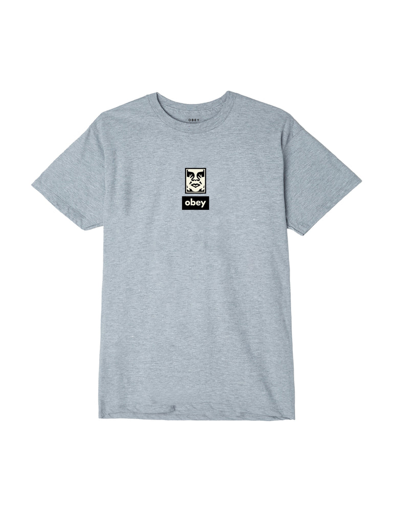 obey icon face 30 years athletic grey | OBEY Clothing