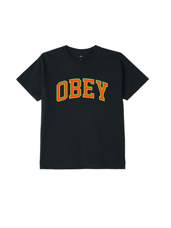 obey academic tee black 1 | OBEY Clothing