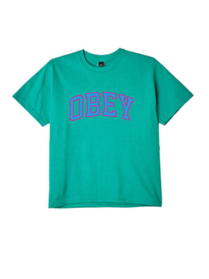 obey academic tee kelly green | OBEY Clothing