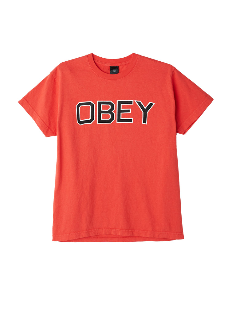 obey tough tee tomato | OBEY Clothing