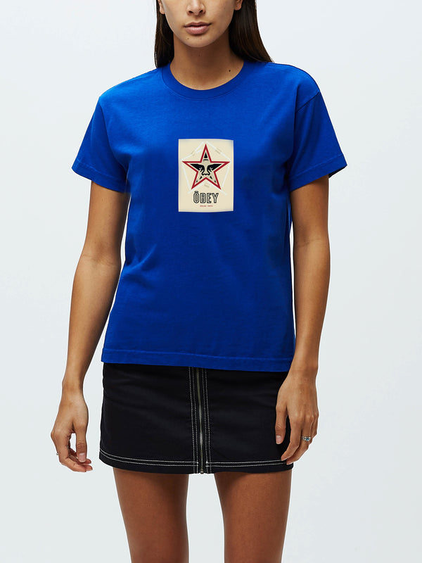 obey salad days tee cobalt | OBEY Clothing