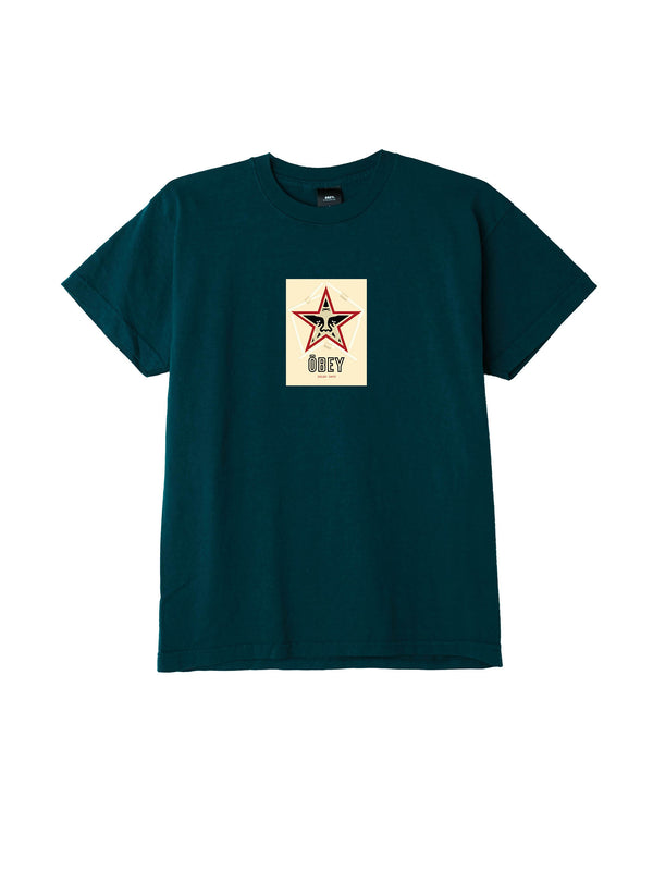 obey salad days tee forest pine | OBEY Clothing