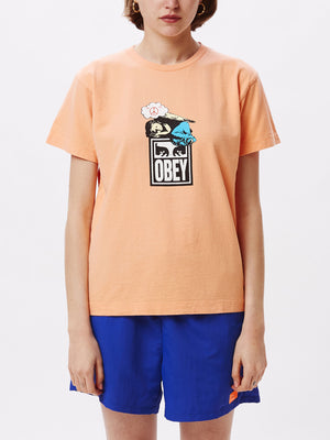 angel box tee melon | OBEY Clothing
