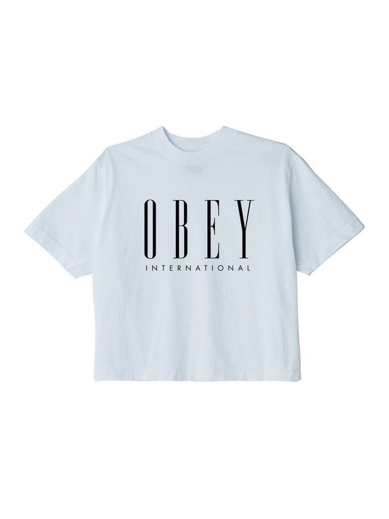obey international new crop t white | OBEY Clothing