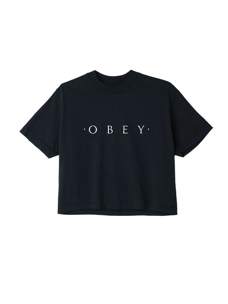 Novel Obey Crop Tee | OBEY Clothing