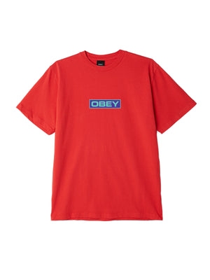 depot tee red | OBEY Clothing
