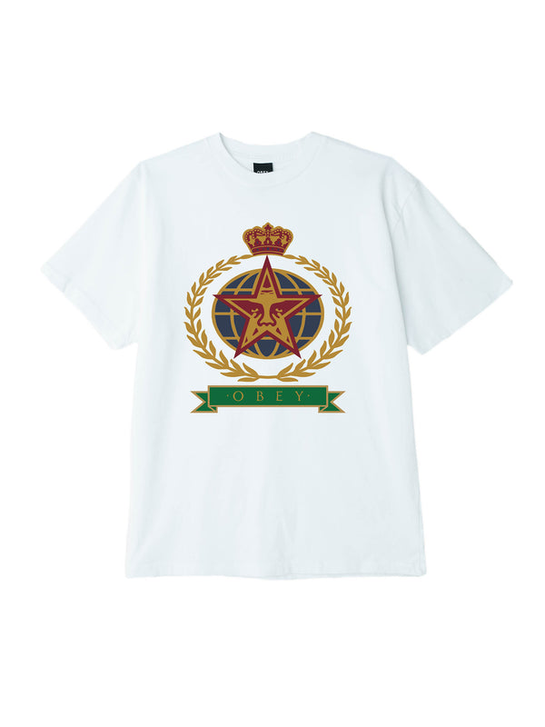 obey prodigy tee white | OBEY Clothing