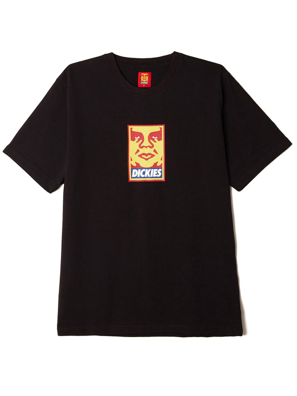 oby6 heavyweight tee black | OBEY Clothing