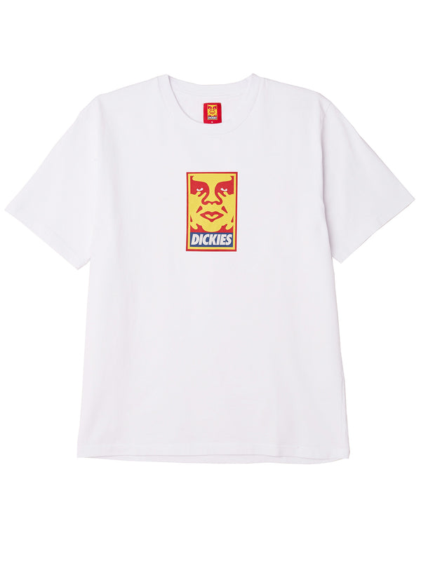 oby6 heavyweight tee white | OBEY Clothing