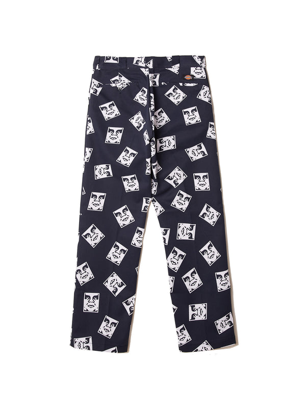 oby1 wp874 work pant l32 dark navy | OBEY Clothing