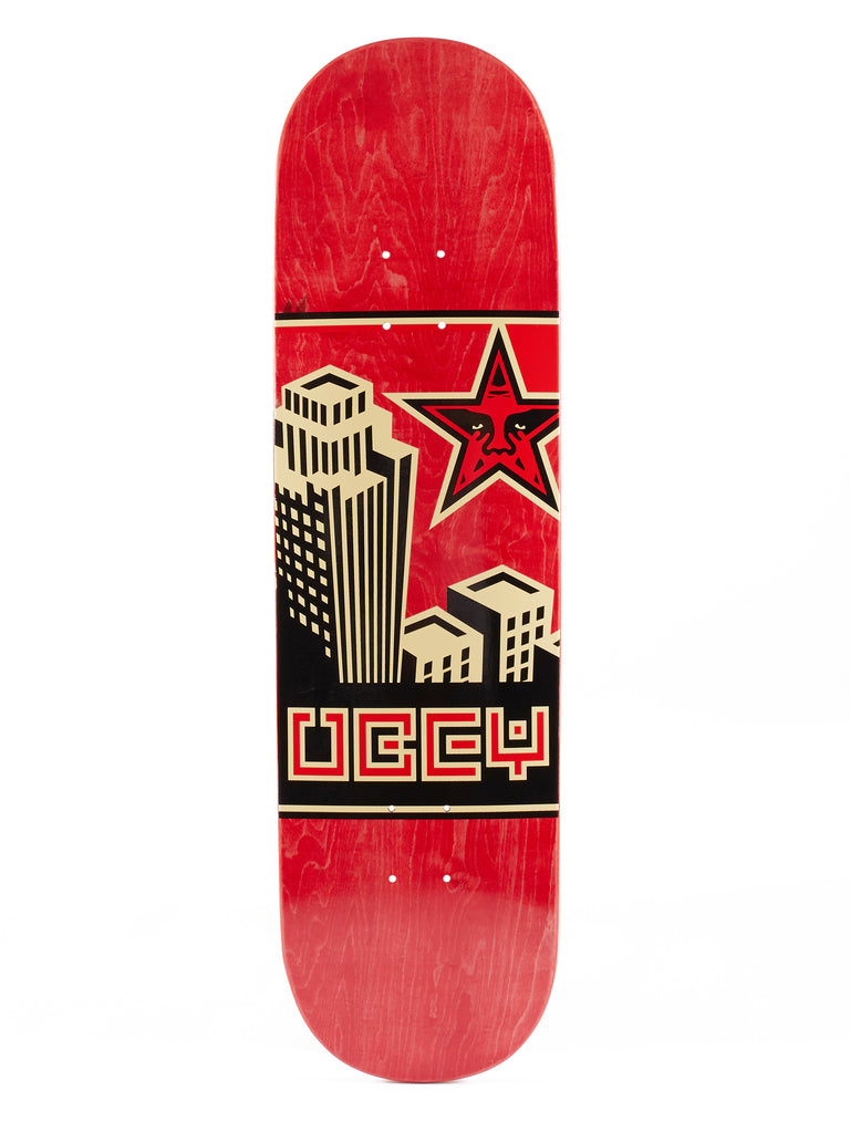obey building 30 years red | OBEY Clothing