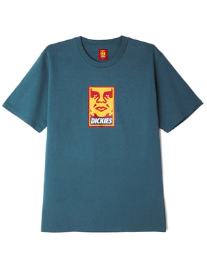 oby6 heavyweight tee alpine | OBEY Clothing