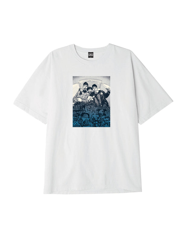 obey x beastie boys x gef white | OBEY Clothing