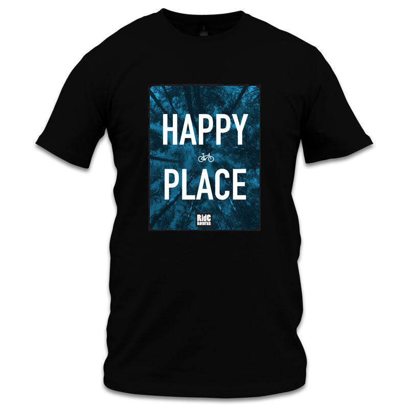 Mens Happy Place T Shirt
