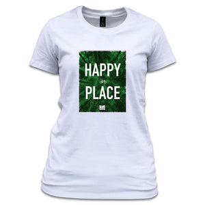 Womens Happy Place T Shirt