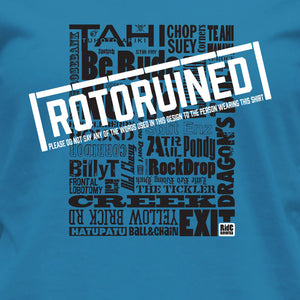 Womens Rotoruined T Shirt